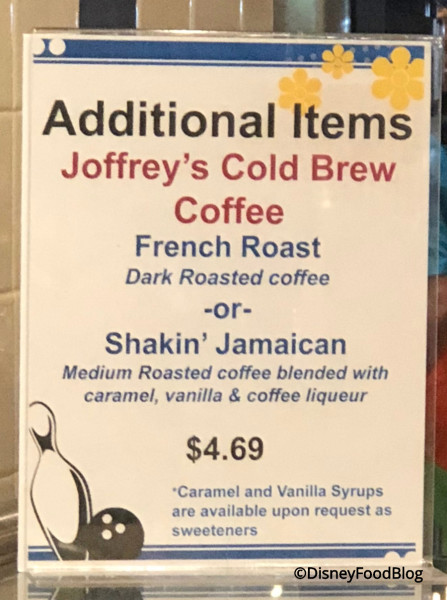 Joffrey's Cold Brew Coffee  at Everything Pop