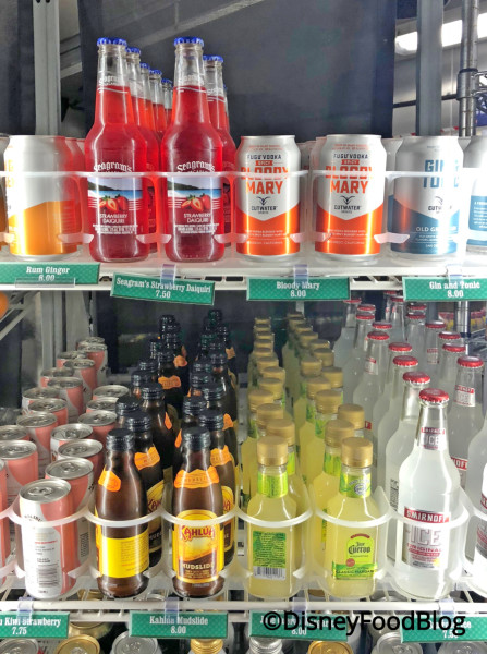 Everything Pop DDP Alcohol Options