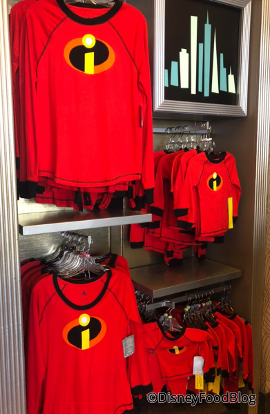 Incredibles Merch