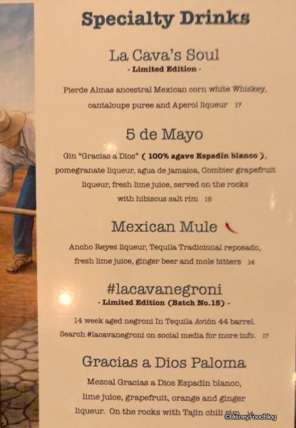 Cinco de Mayo Margarita at La Cava del Tequila in the Mexico Pavilion