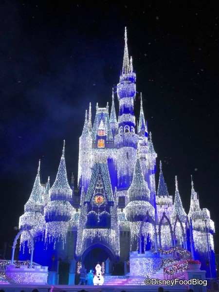 christmas from walt disney world - When Does Disneyland Decorate For Christmas 2018
