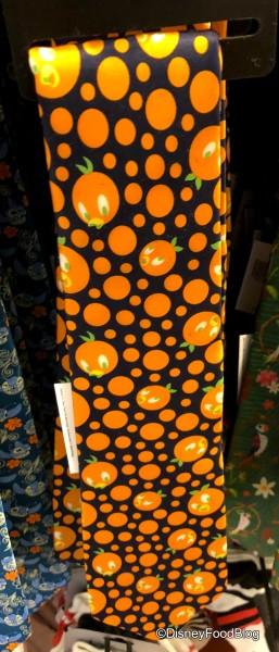 Orange Bird Tie