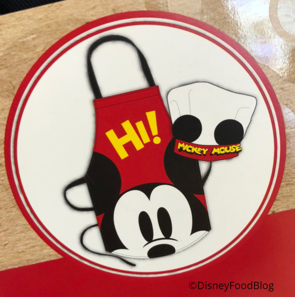 Mickey Apron and Chef's Hat