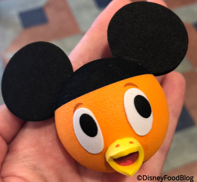 Orange Bird Antenna Topper