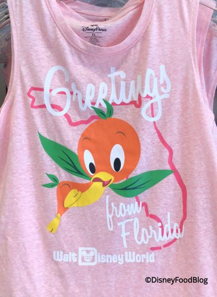 Orange Bird Tank