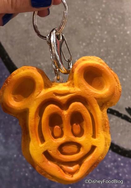 Snack Keychain: Mickey Waffle