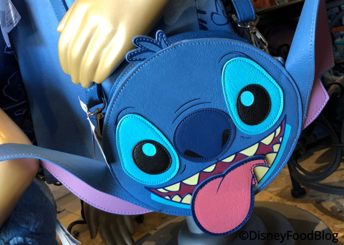 Stitch cross-body purse