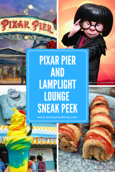 PIXAR PIER SUPER SNEAK PREVIEW! Tons of NEW Info on Food, Attractions, and MORE!