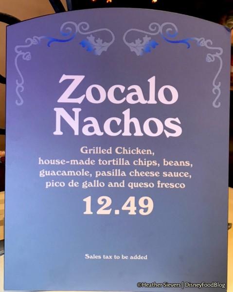 Zocalo Nachos