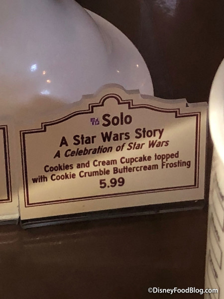 Solo: A Star Wars Story Cupcake