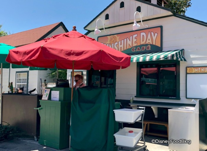 Sunshine Day Pop Up Bar