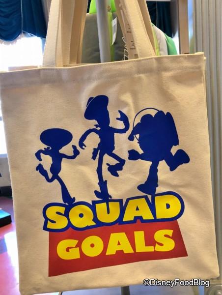 Squad Goals! Tote