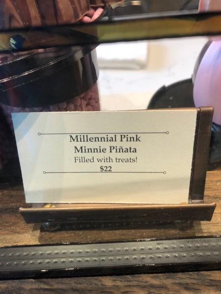 Millennial Pink Minnie Pinata