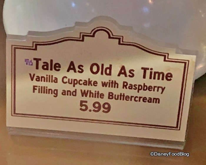 Tale As Old As Time Cupcake