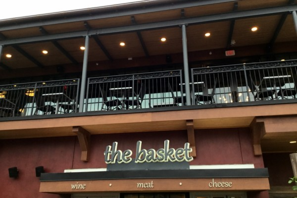 Check out The Basket at Wine Bar George in Disney Springs!