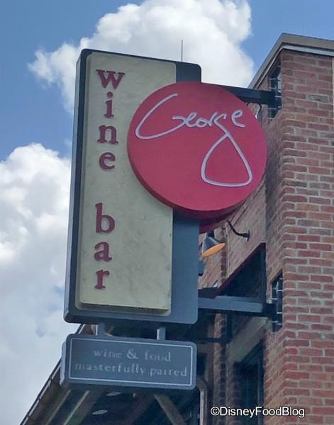 Wine Bar George -- Coming Soon!