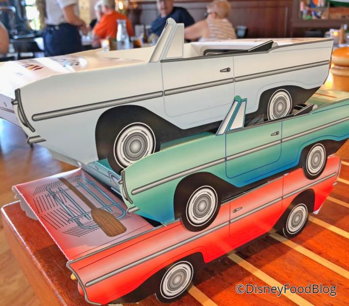 Cardboard Amphicar
