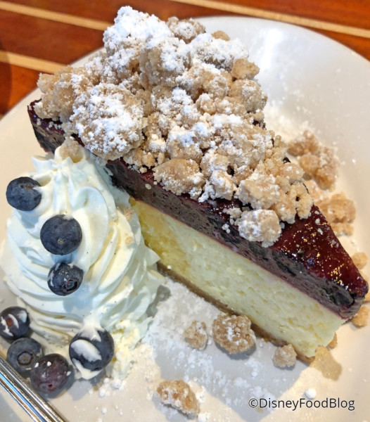 New York Style Blueberry Cake Cheesecake