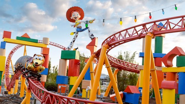 Slinky Dog Dash ©Disney