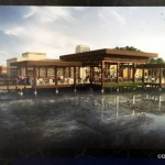 Concept Art for On-the-Lake Dining Coming to Coronado Springs Resort