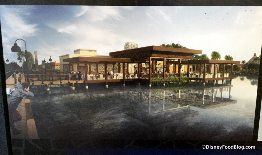 Coronado Springs Waterfront Restaurant
