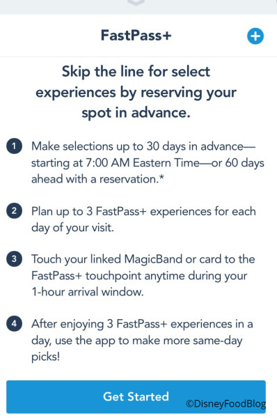 Fastpass+ ScreenShot
