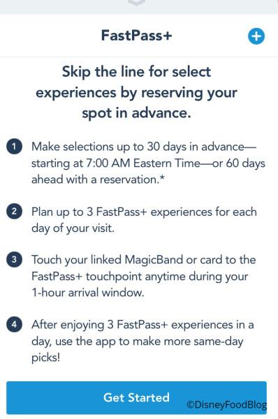 Fastpass+ ScreenShot