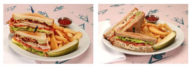 Ramone's Flow & Slow Club and Fin-tastic Tuna Salad