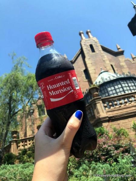 Haunted Mansion Coke Bottle