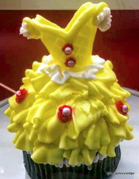 Belle's Gown Cupcake