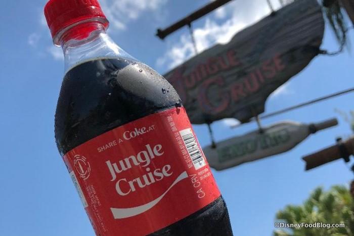 Magic Kingdom Coca-Cola Bottles!