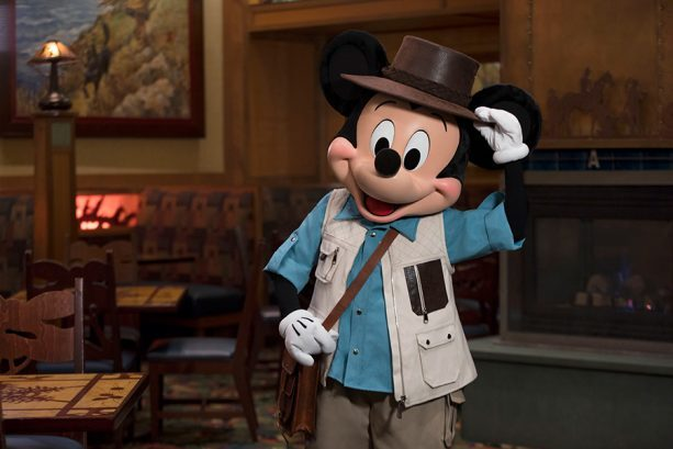 Mickey's Tales of Adventure Character Breakfast ©Disney
