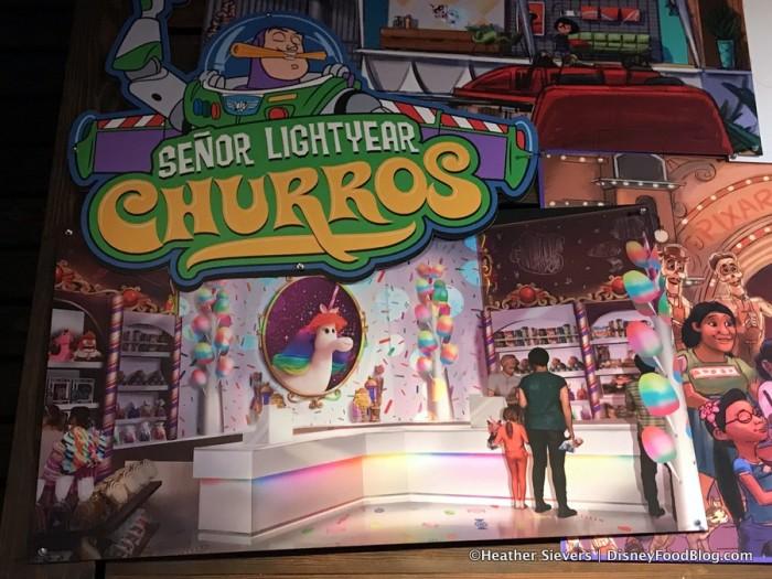 Senor Buzz Churros Concept Art