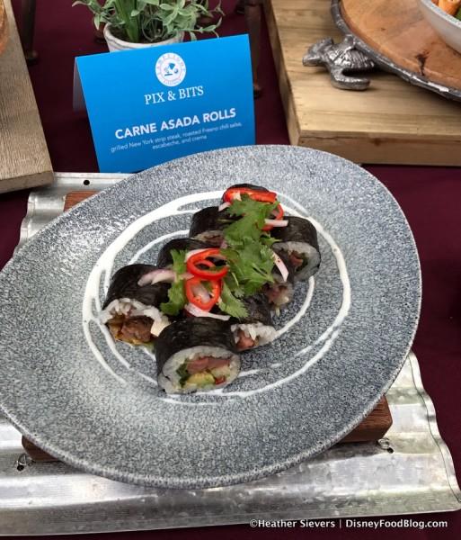 Carne Asada Rolls