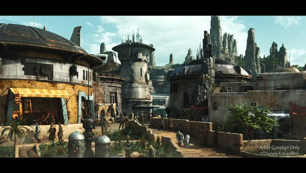 Galaxy's Edge Concept Art ©Disney/Lucasfilm