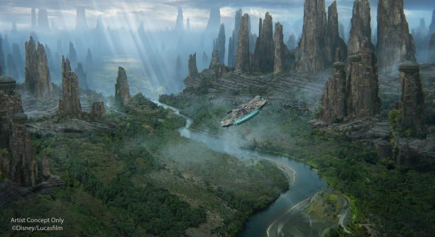 Black Spires Outpost on Batuu ©Disney/Lucasfilm