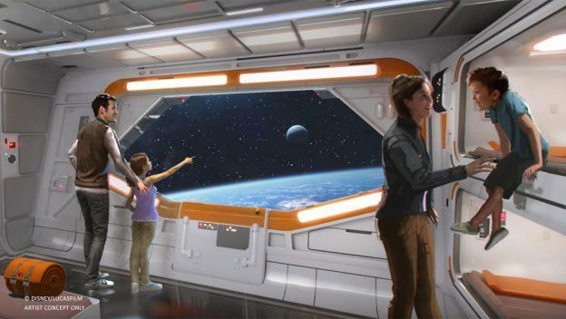 Star Wars Hotel concept art  ©Disney