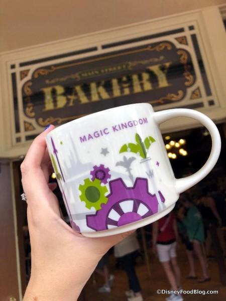 Magic Kingdom You Are Here Mugs