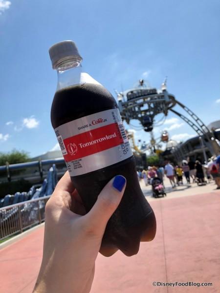 Tomorrowland Diet Coke Bottle