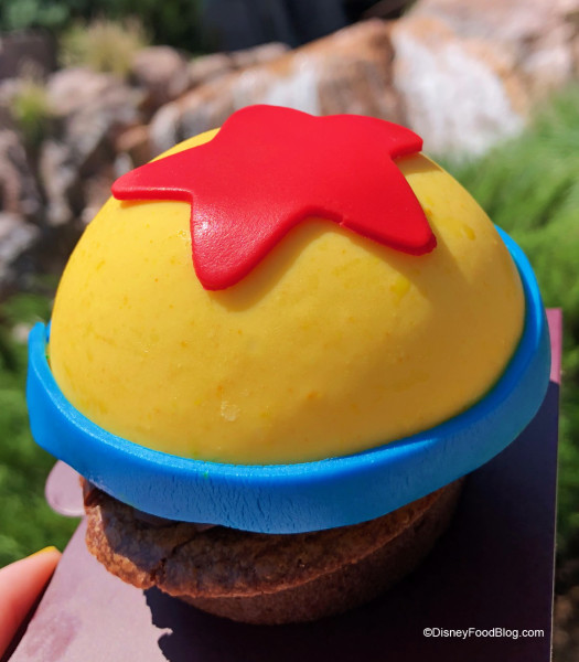 New Pixar Ball Chocolate Mousse Brownie at Roaring Fork