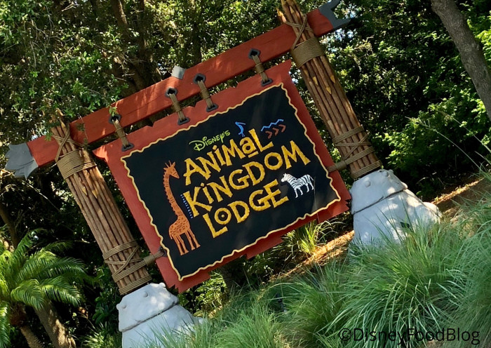 Welcome to Animal Kingdom Lodge!