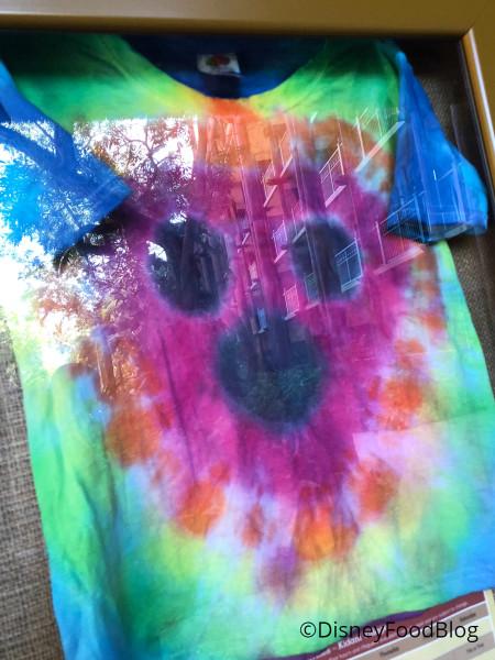 Tie Dye Activity Display