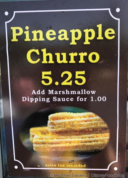 Pineapple Churro