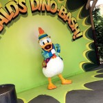Donald's Dino-Bash in DinoLand U.S.A. (Plus a Cupcake to Match the Occasion!)
