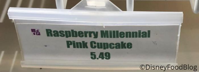 Raspberry Millennial Pink Cupcake