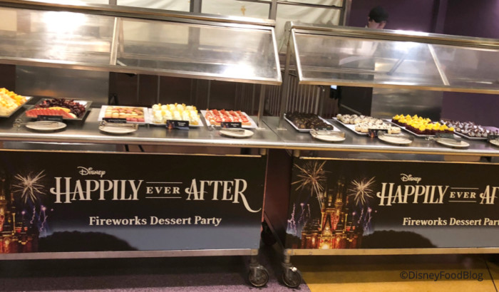 Happily Ever After AFTER Dessert Party Spread