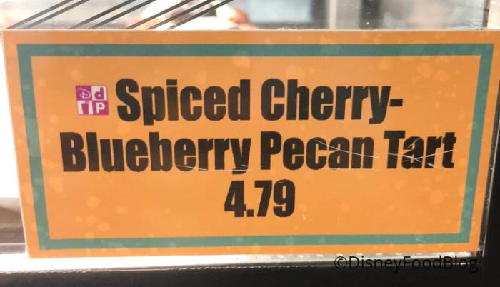 Spiced Cherry Blueberry Pecan Tart