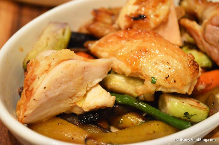 1/2 Roasted Chicken