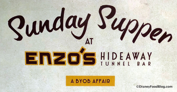 Sunday Supper at Enzo's