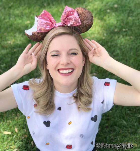Mickey Premium Ice Cream Bar Minnie Ears
